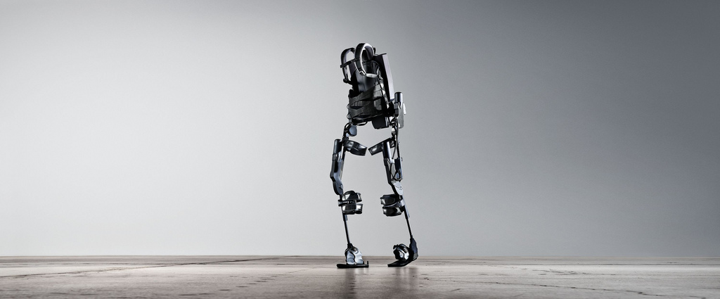 Exoesqueleto grande, ande o no ande